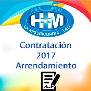 Contrato de Arrendamiento 2017