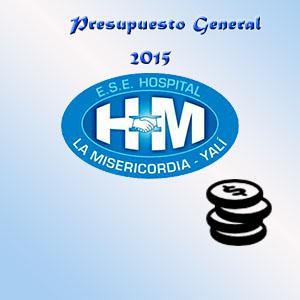 Presupuesto General Año 2015.