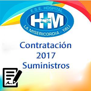 Contrato Suministros 2017