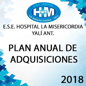 Plan Anual de Adquisiciones 2018