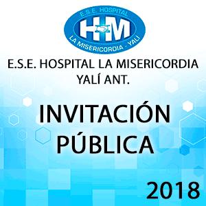 Invitacion Pública - Servicios de Nutricionista en el Centro de Recuperación Nutricional