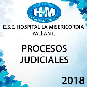 Informe Procesos Judiciales 2018