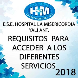 Requisitos Para Acceder a los Diferentes Servicios