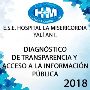 Diagnóstico Transparencia y Acceso la Información Pública 2018