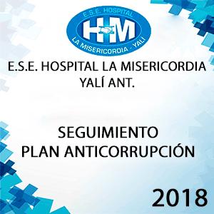 Informe Seguimiento al Plan Anticorrupción Mayo-Agosto 2018