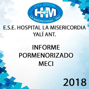 Informe Pormenorizado MECI Julio - Octubre de 2018
