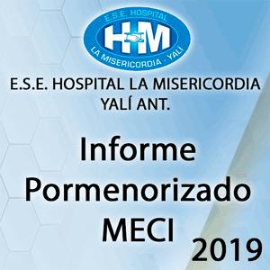 Informe Pormenorizado MECI Julio 2019 – Octubre 2019