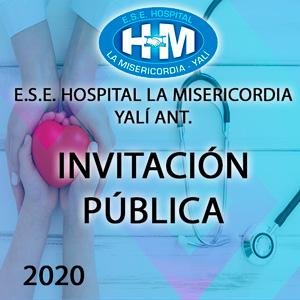 Invitación Pública - Suministro de Materiales Área de Odontología 2020